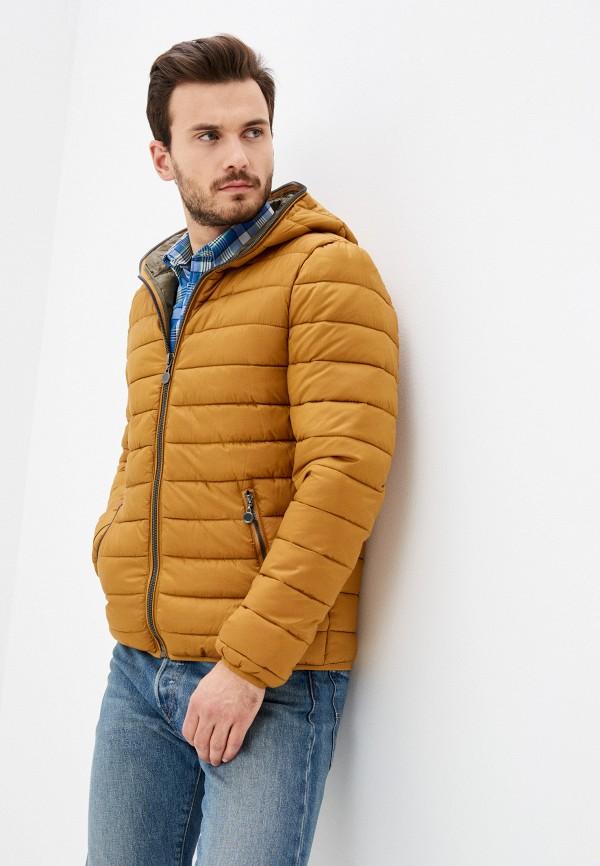 мужская куртка bruebeck, коричневая