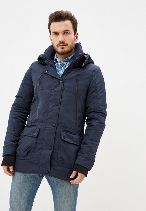 мужская куртка bruebeck, синяя