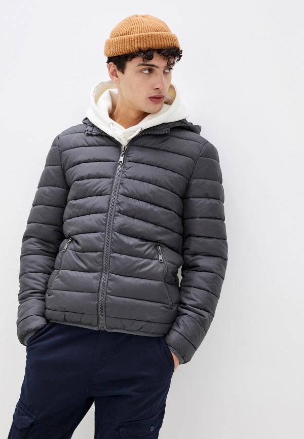 мужская куртка bruebeck, серая