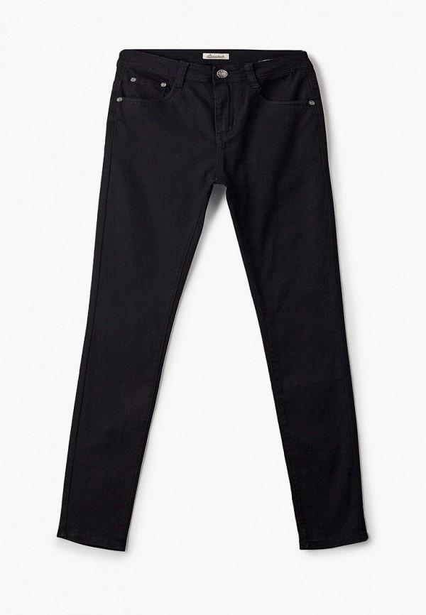 мужские зауженные брюки bruebeck, черные