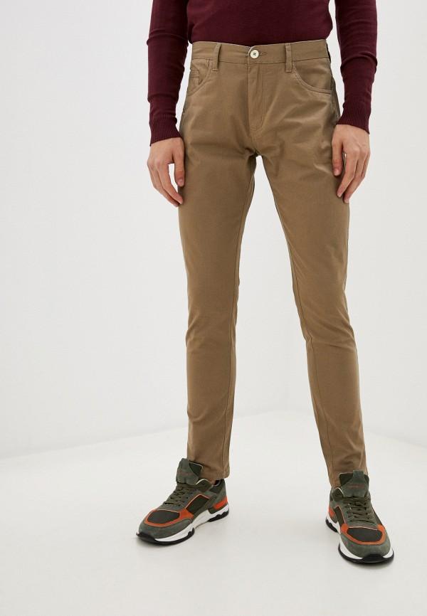 мужские брюки bruebeck, бежевые