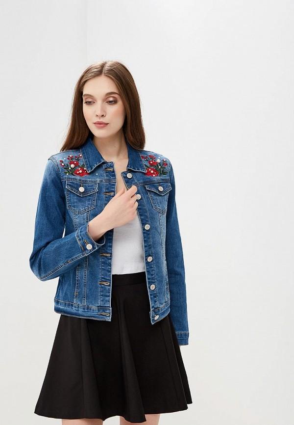 Купить Куртка джинсовая Bruebeck, br028ewbmra1, синий, Весна-лето 2018
