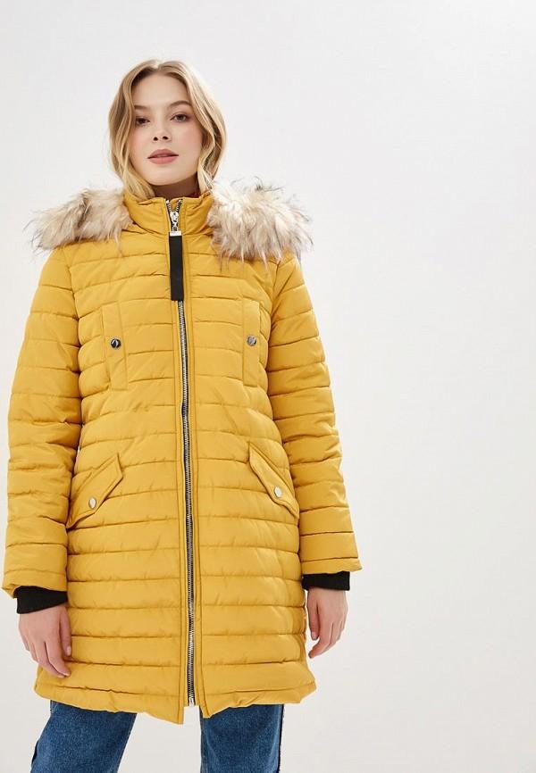 женская куртка bruebeck, желтая