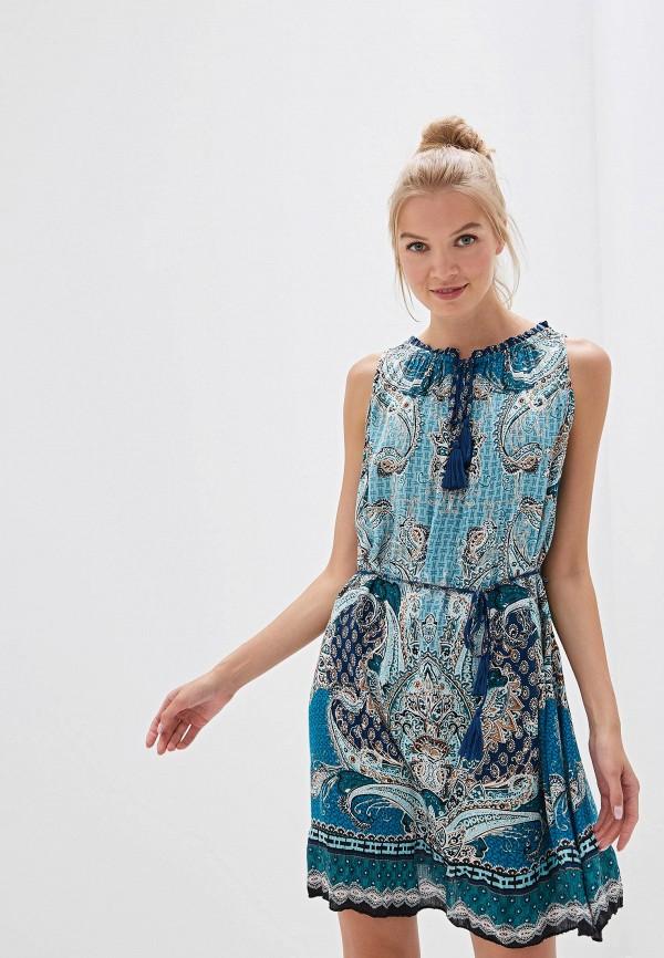женское повседневные платье bruebeck, синее