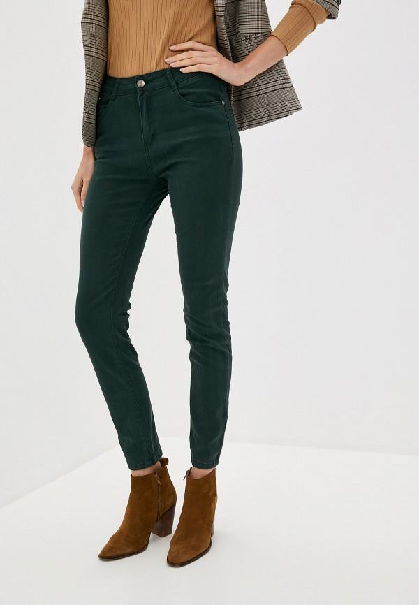 женские повседневные брюки bruebeck, зеленые