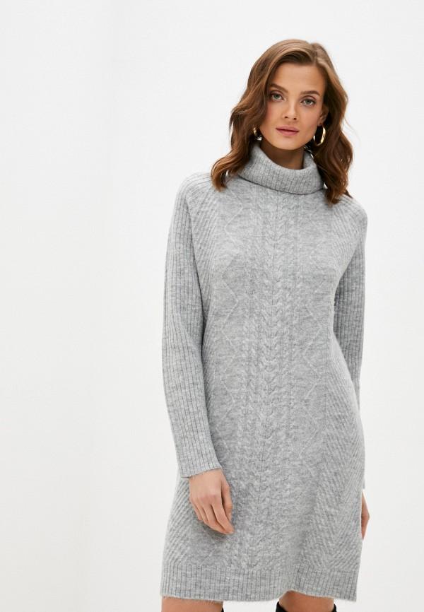 женское платье bruebeck, серое