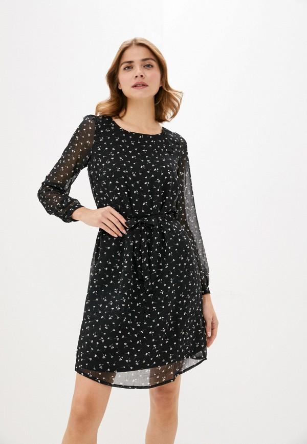 женское повседневные платье bruebeck, черное