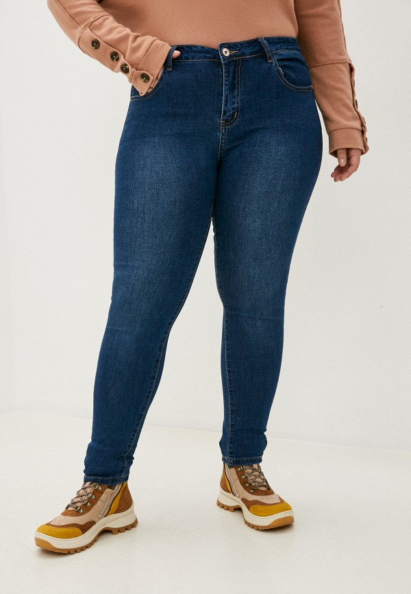 женские джинсы bruebeck, синие