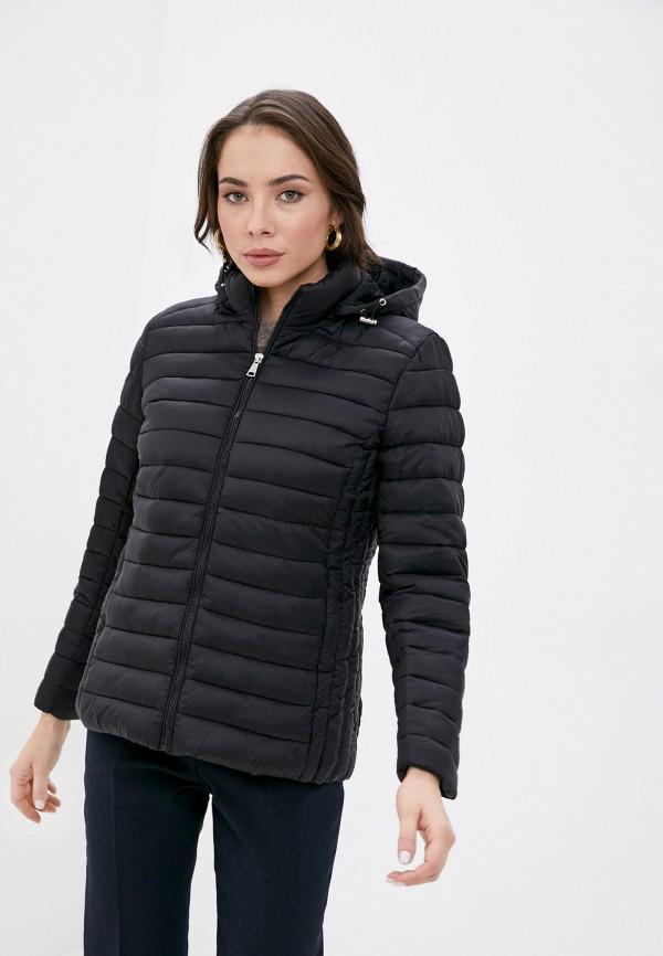 женская куртка bruebeck, черная