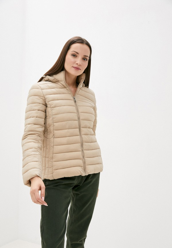 женская куртка bruebeck, бежевая