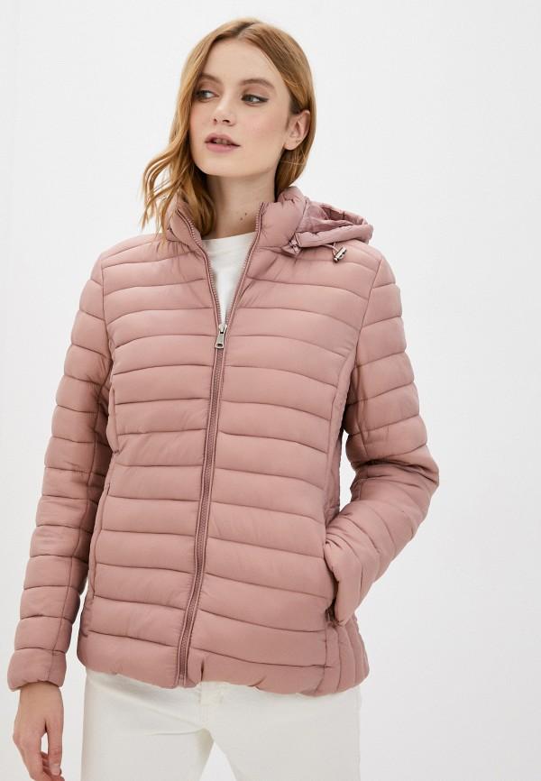 женская куртка bruebeck, розовая