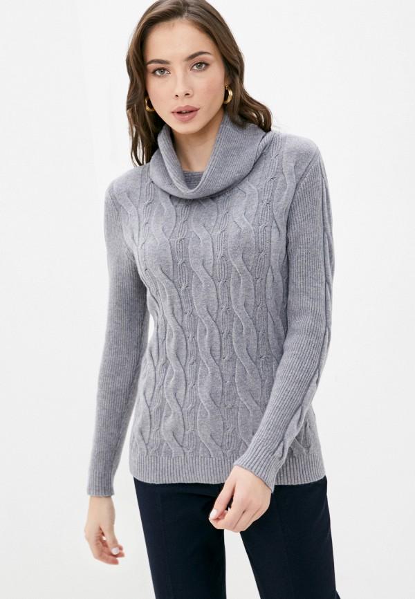 женский свитер bruebeck, серый