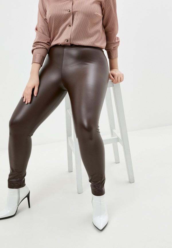 женские леггинсы bruebeck, коричневые
