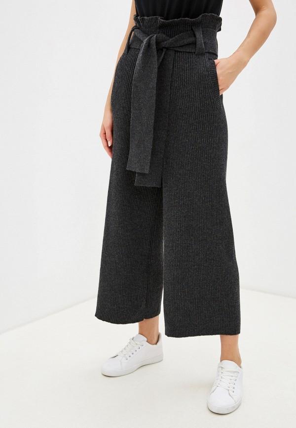 женские повседневные брюки brusnika, серые