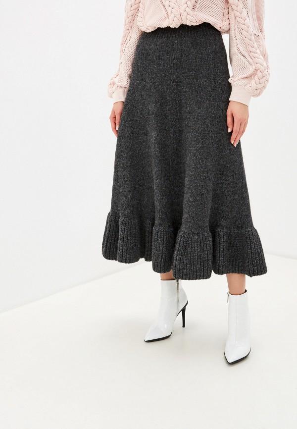 женская юбка brusnika, серая