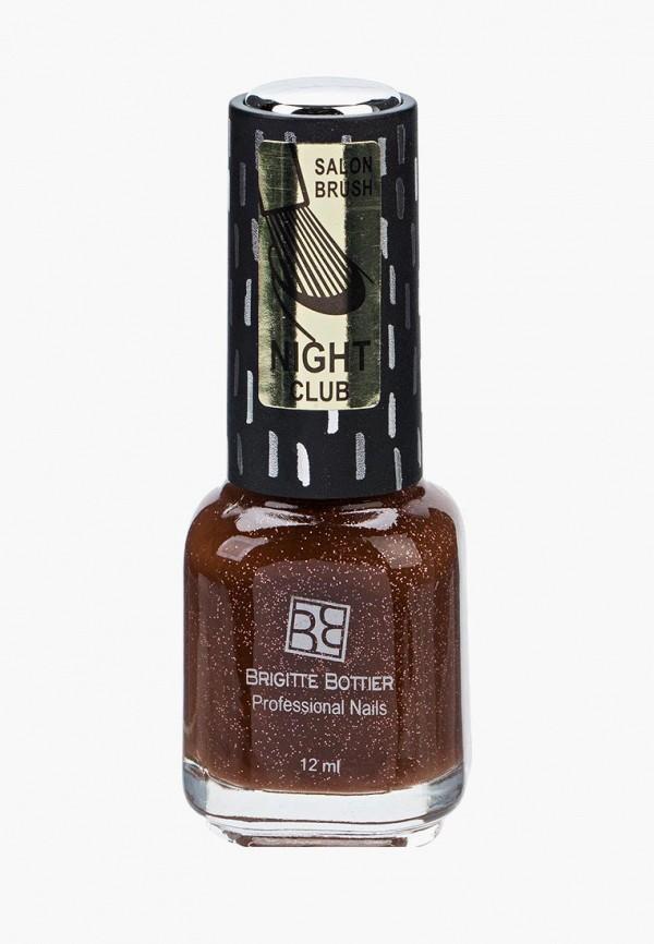 лак для ногтей brigitte bottier, коричневый