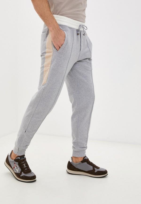мужские спортивные брюки brunello cucinelli, серые