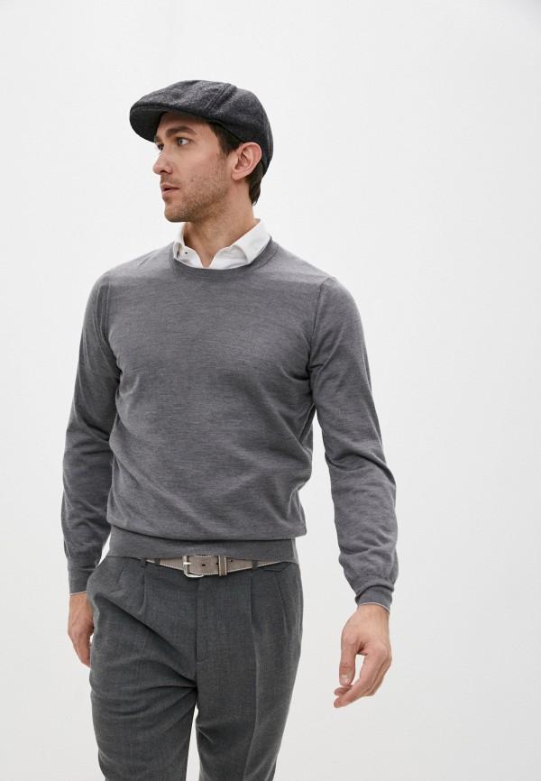 мужской джемпер brunello cucinelli, серый