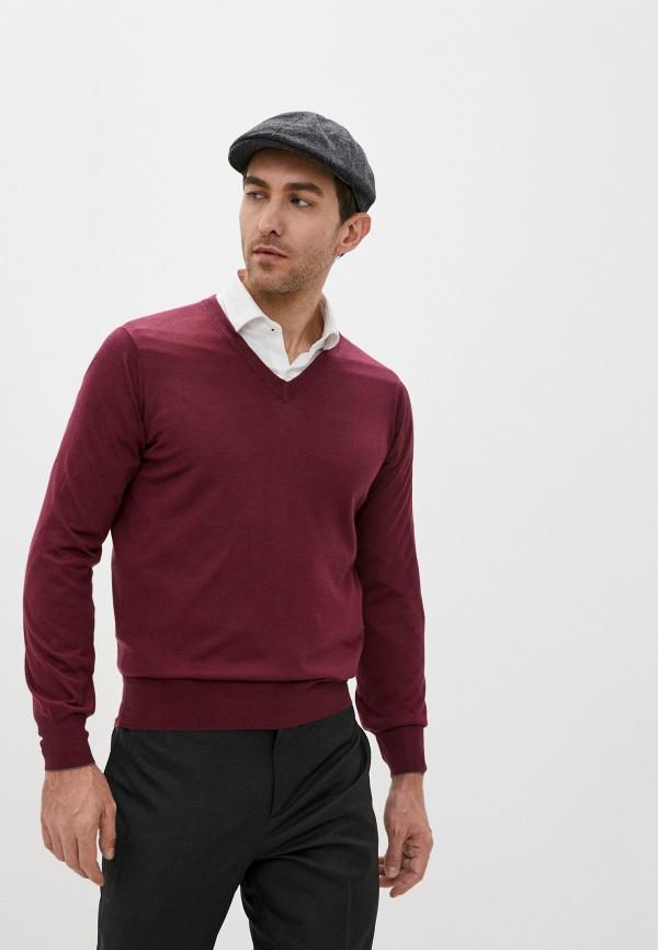 мужской пуловер brunello cucinelli, бордовый