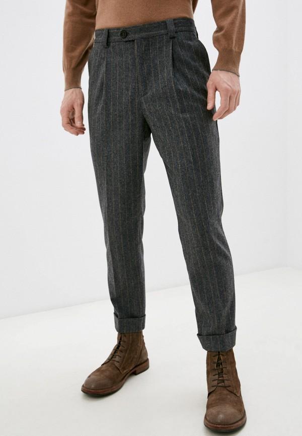мужские повседневные брюки brunello cucinelli, серые