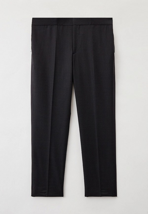 мужские классические брюки brunello cucinelli, серые