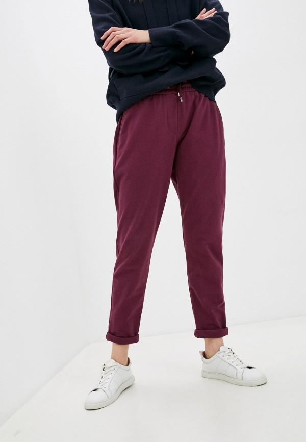 женские спортивные брюки brunello cucinelli, фиолетовые