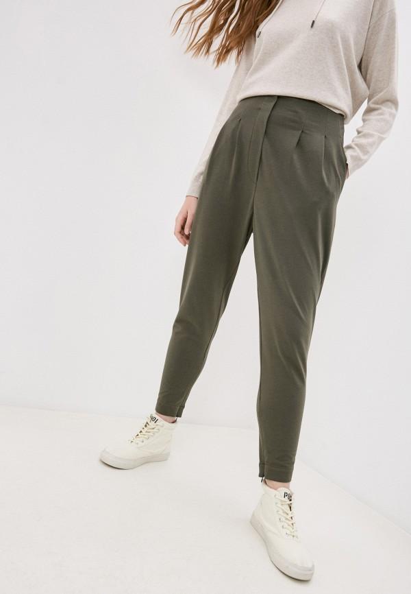 женские повседневные брюки brunello cucinelli, хаки
