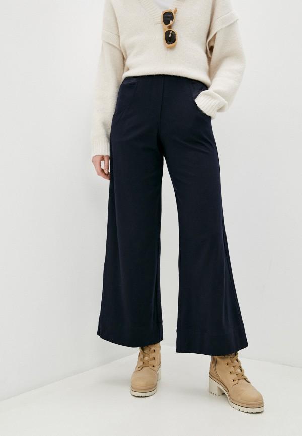 женские брюки джоггеры brunello cucinelli, синие