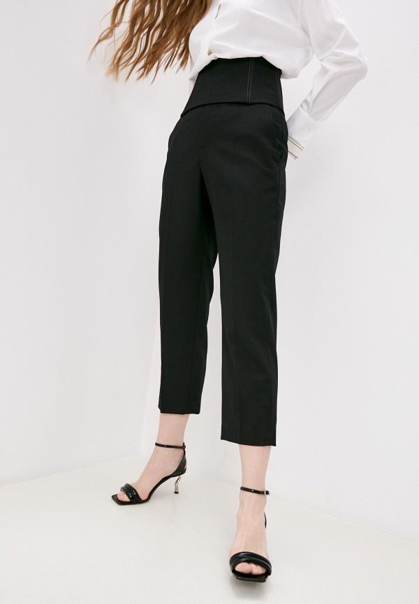 женские классические брюки brunello cucinelli, черные