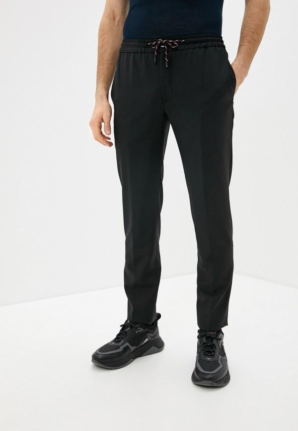 мужские повседневные брюки brian dales, черные