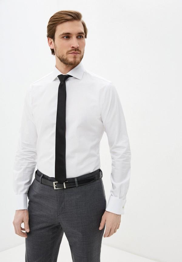 мужская рубашка с длинным рукавом brian dales, белая