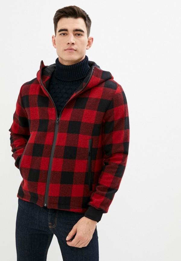 мужская куртка brian dales, красная