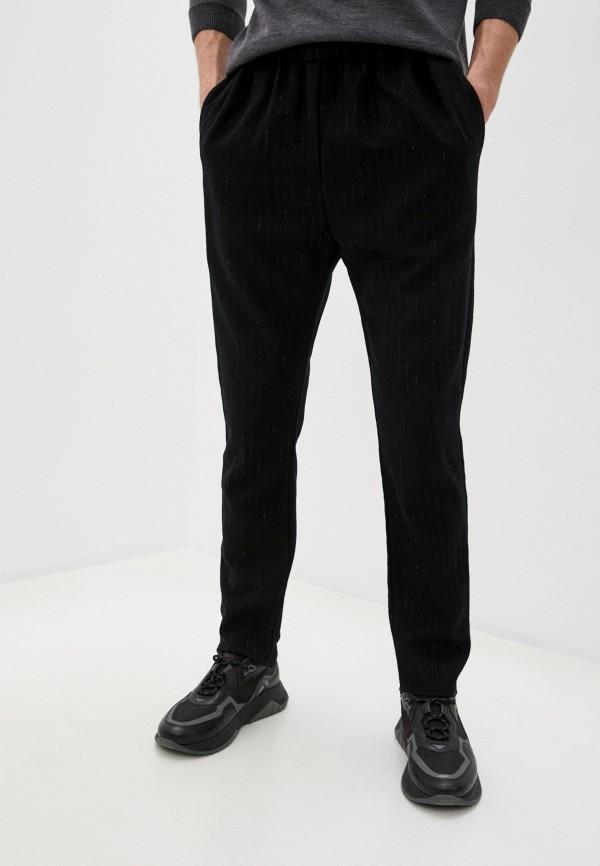 мужские прямые брюки brian dales, черные