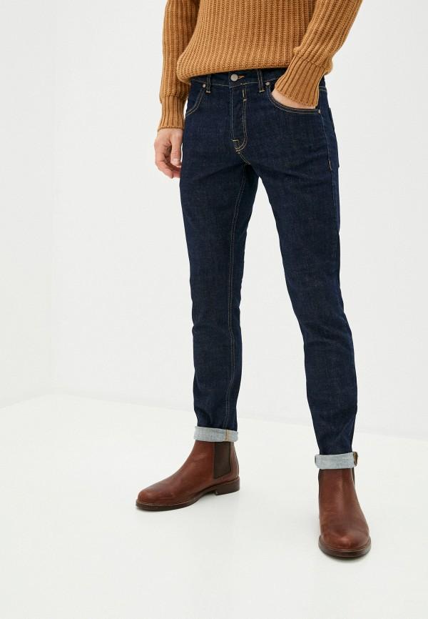 мужские зауженные джинсы brian dales, синие