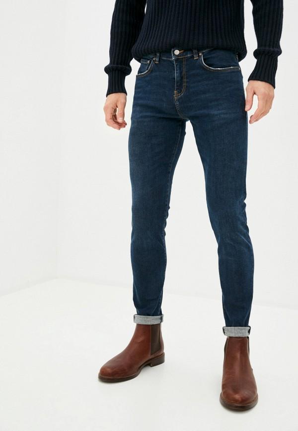 мужские прямые джинсы brian dales, синие
