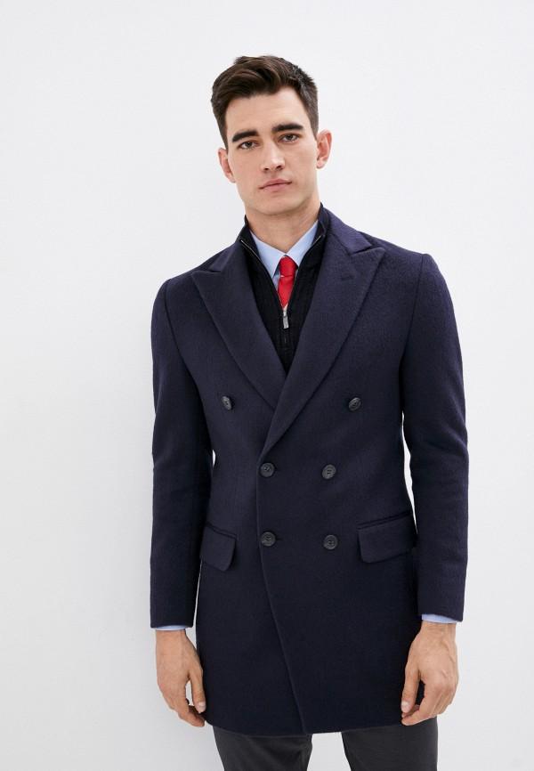 мужское пальто brian dales, черное