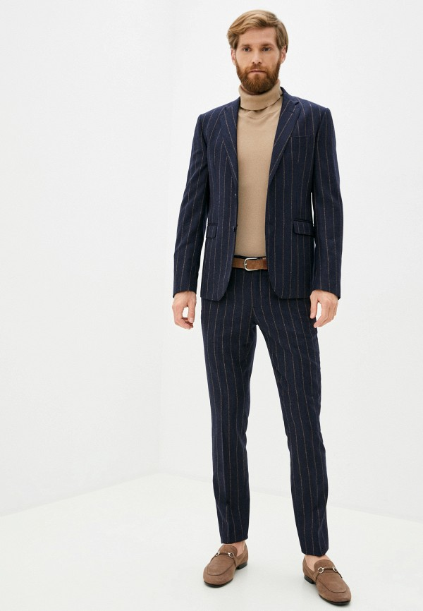 мужской классические костюм brian dales, синий