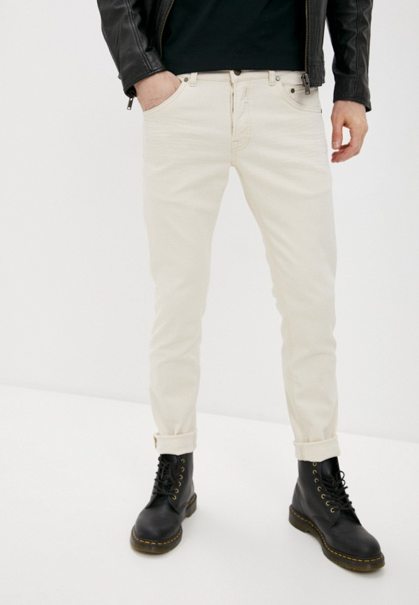 мужские повседневные брюки brian dales, бежевые