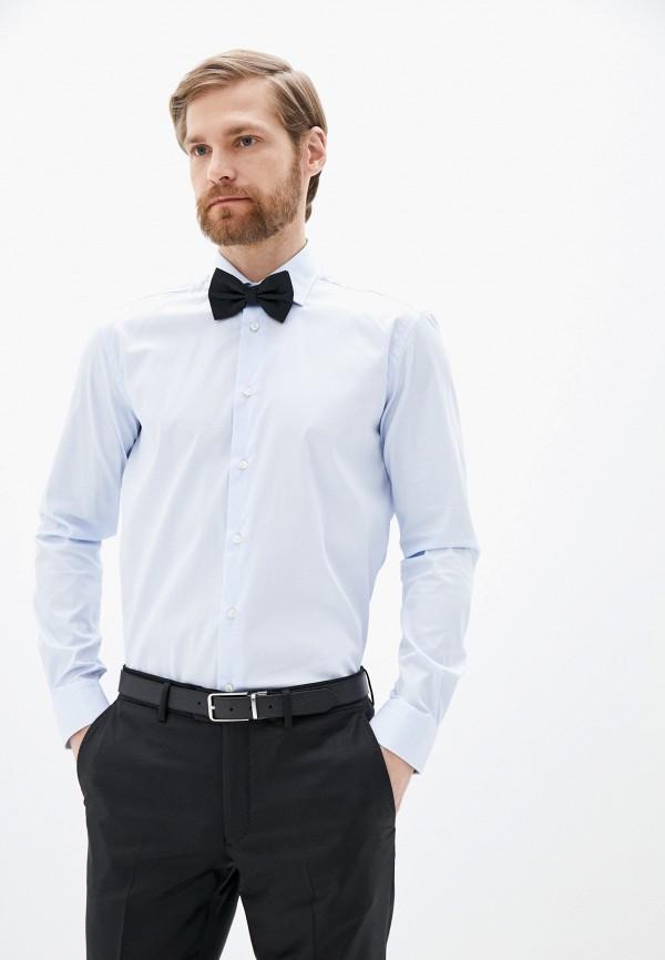 мужская рубашка с длинным рукавом brian dales, голубая