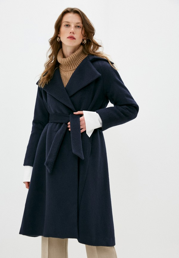 женское пальто brian dales, синее