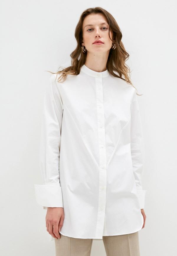 женская рубашка с длинным рукавом brian dales, белая