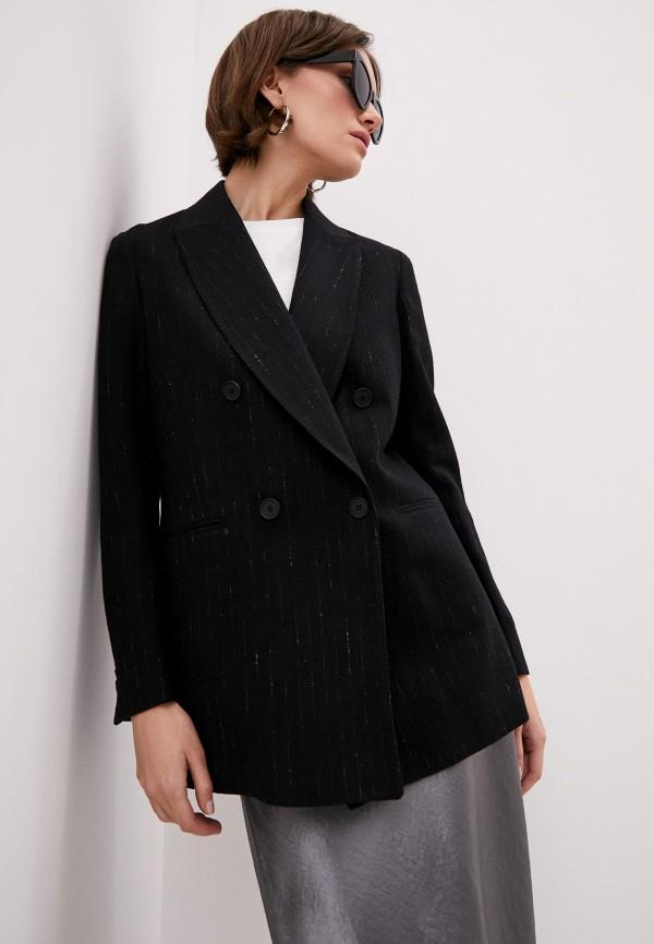 женский пиджак brian dales, черный