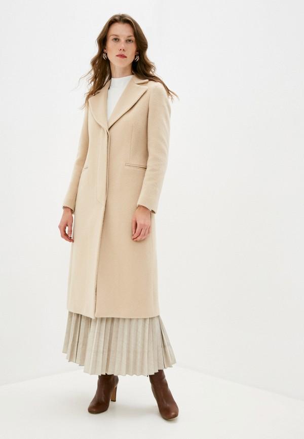 женское пальто brian dales, бежевое