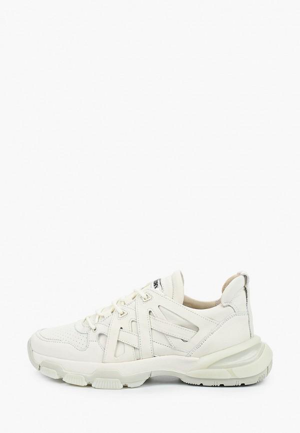 мужские кроссовки bronx, белые