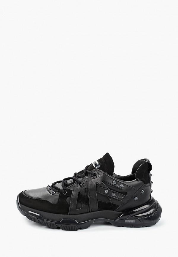 мужские кроссовки bronx, черные