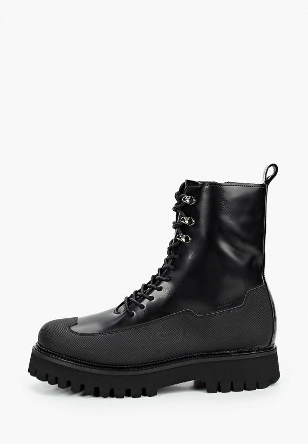 мужские ботинки bronx, черные