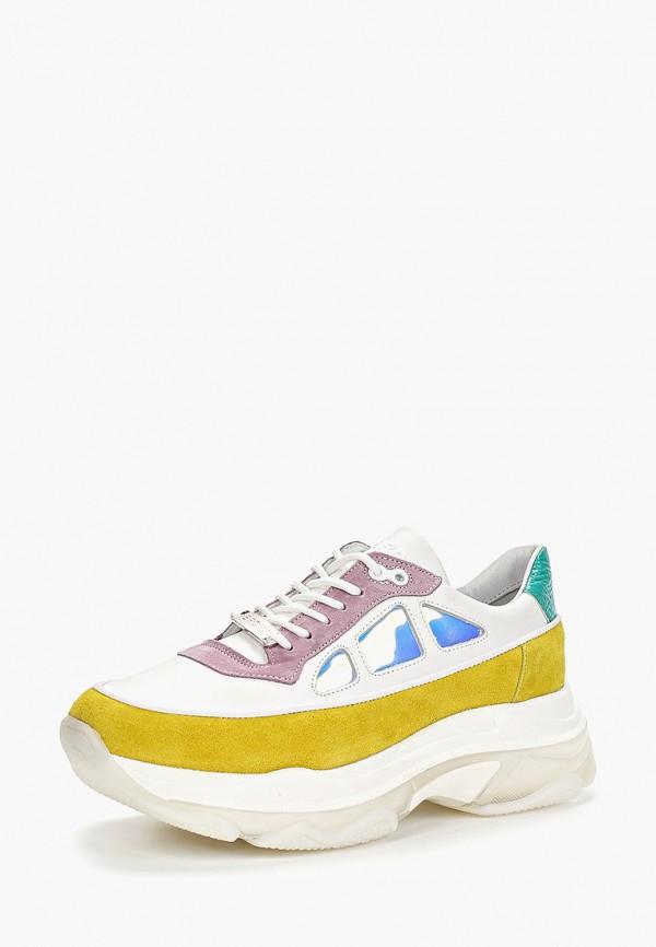 Фото 2 - женские кроссовки Bronx разноцветного цвета