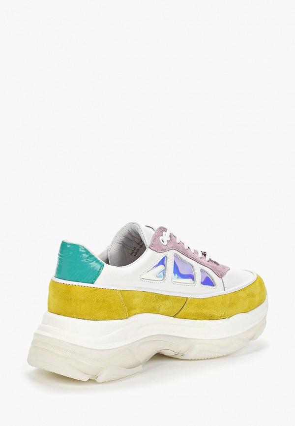 Фото 3 - женские кроссовки Bronx разноцветного цвета