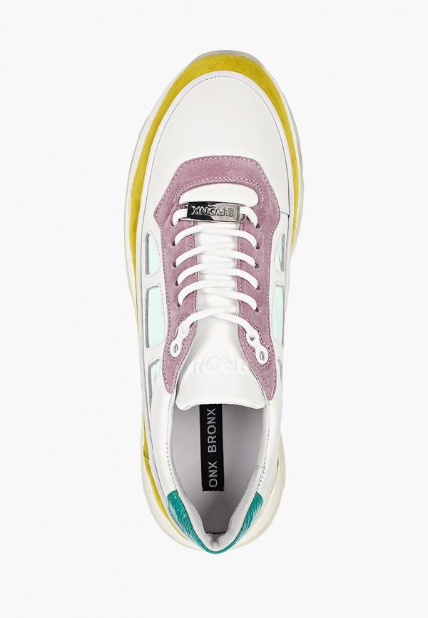 Фото 4 - женские кроссовки Bronx разноцветного цвета
