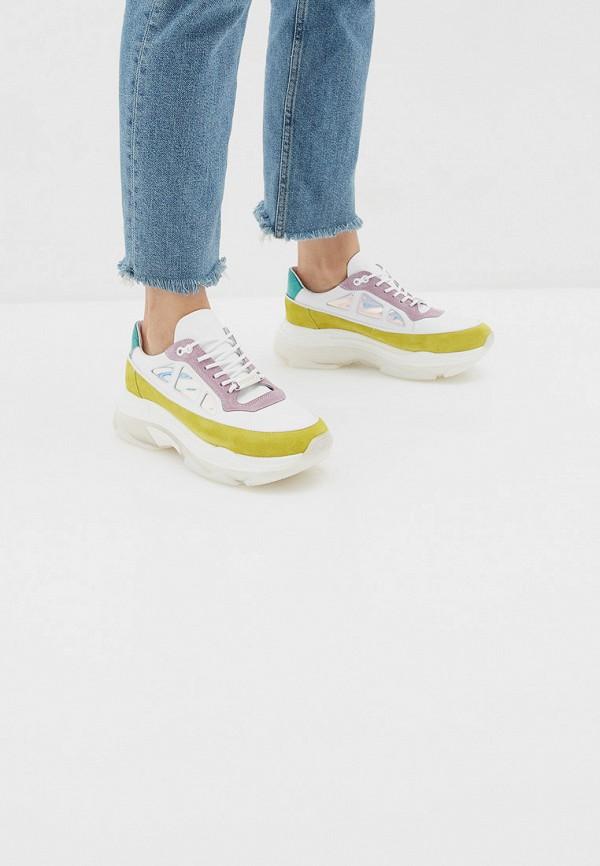 Фото 6 - женские кроссовки Bronx разноцветного цвета